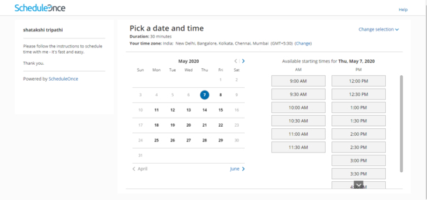 Calendar Sync on ScheduleOnce 2