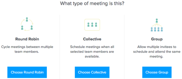 group scheduling calendly