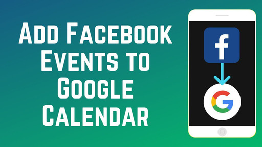 How to Sync Facebook Events to Google Calendar