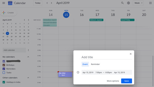 Lets Play With Google Calendar