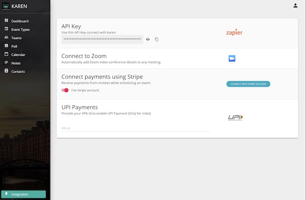 Karen API Key